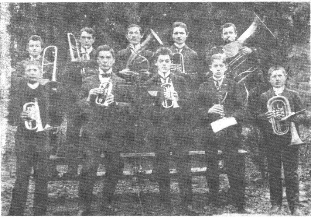 Mitglieder aus den Gründerjahren um 1911