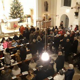 Weihnachtliche Weisen und Christmette 2018